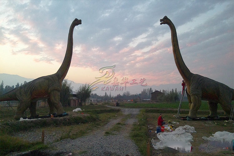 Long 5-20 Metters Brachiosaurus Statue Custom Large Dinosaur Zoo Displays